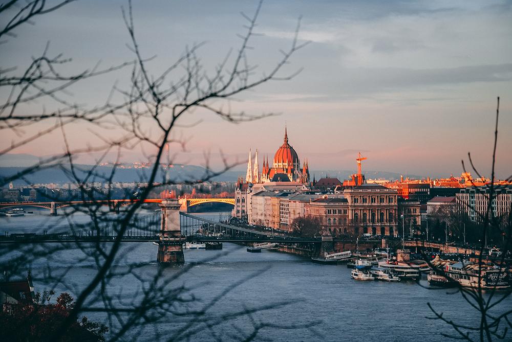 Βουδαπέστη, Χριστούγεννα στο στολίδι του Δούναβη